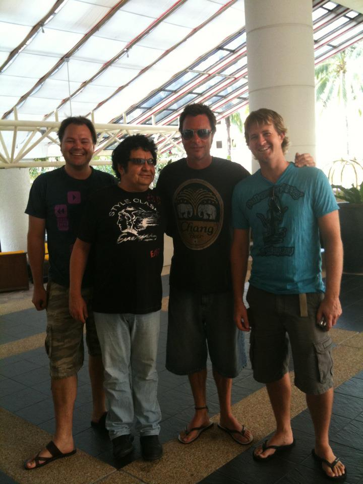 Thailand with Richard Clapton Band