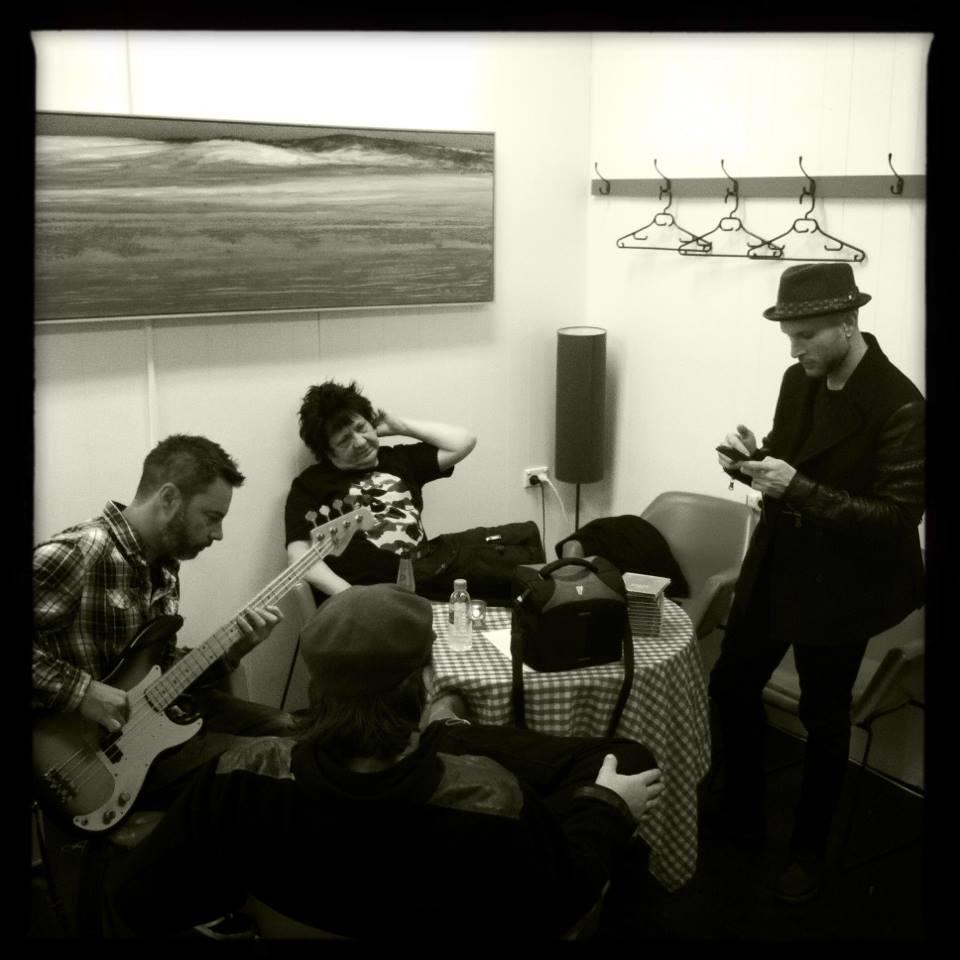 Rchard Clapton bandroom